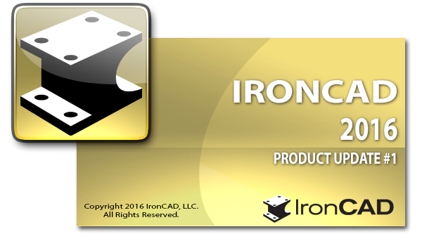 IRONCAD 2016 PU1 New Features