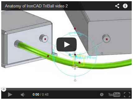Figure 7: Video of how TriBall places 3D curves