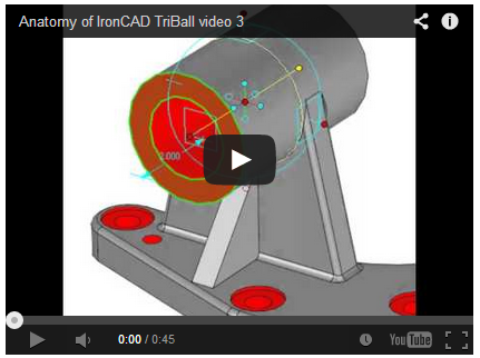 Figure 9: TriBall being used for direct model editing