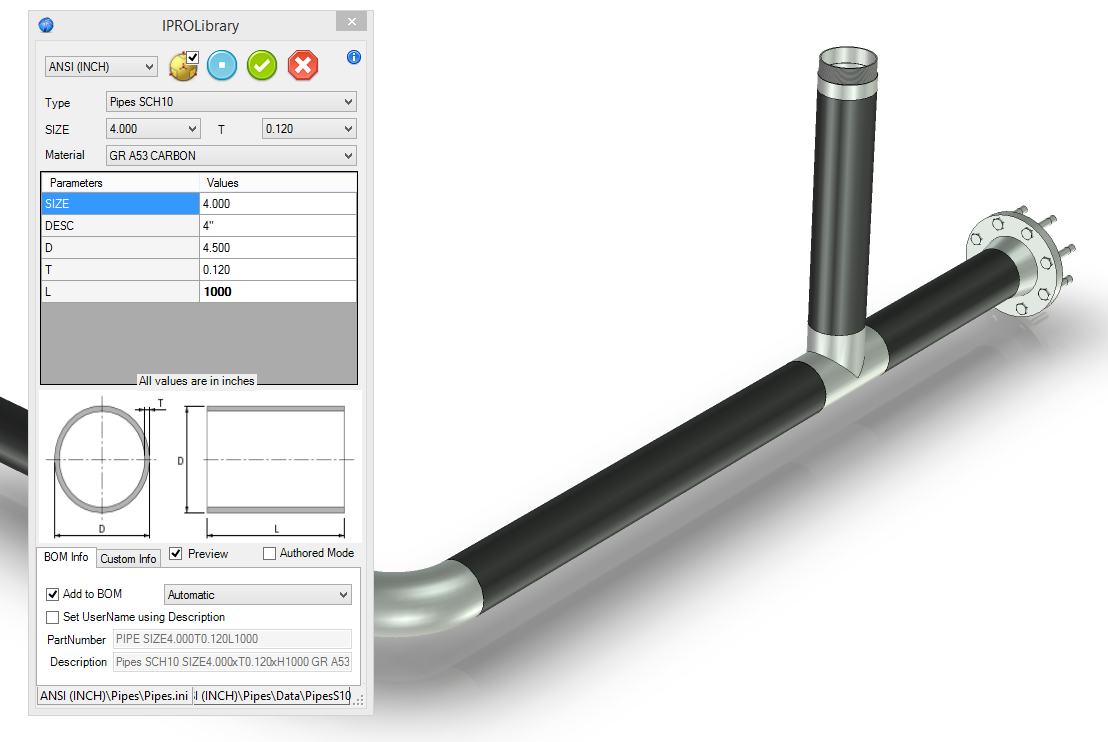 Piping | IronCAD CAD Software Solutions