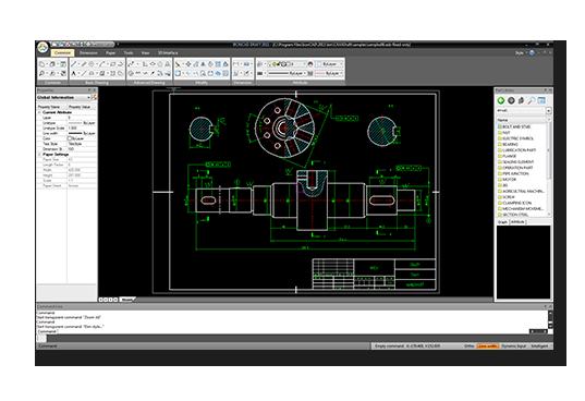 2d Cad Software Ironcad Draft Ironcad Cad Software