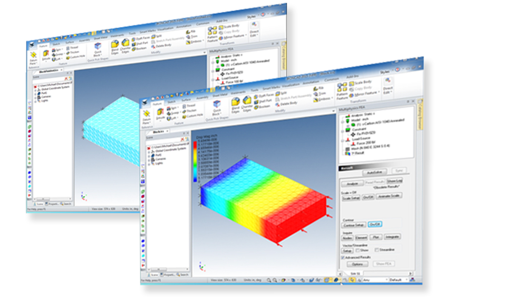 CAD/FEA Multiphysics Simulation Software   IronCAD CAD Software