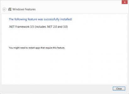 Close .NET Installer