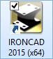 Launch IRONCAD