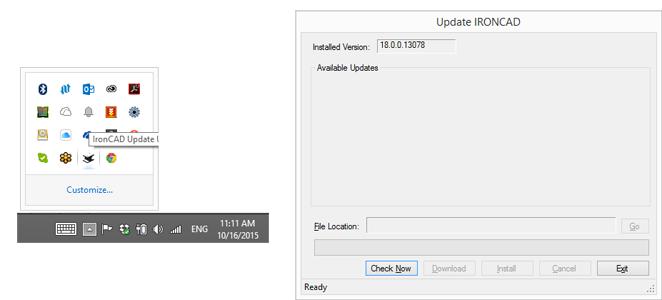 Automatic Update Notification