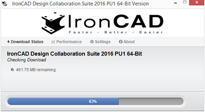 IronCAD Download Manager