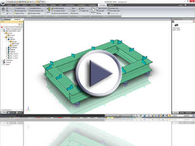 IronCAD Part/Assembly Groups