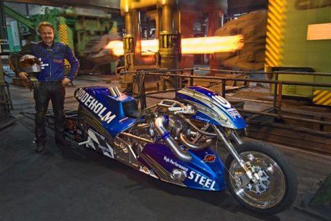 Karling Motorcycle Engine Design