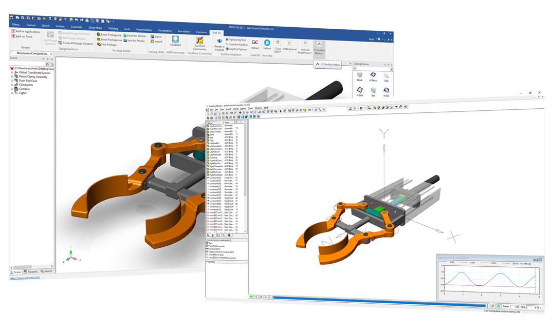 SimWise Motion for IronCAD | IronCAD CAD Software Solutions