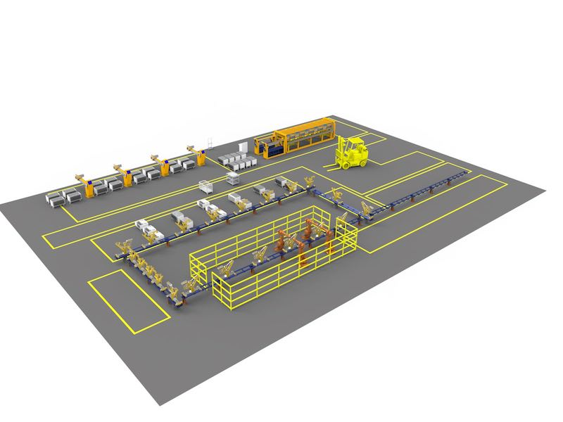 IronCAD Factory Layout