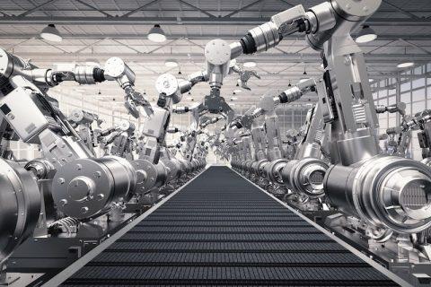 3D CAD system robots rendering