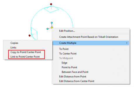 TriBall Create Multiple to Center