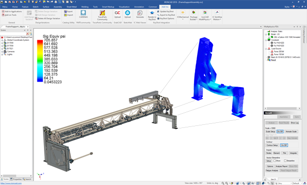 Multiphysics for IronCAD 2018 Released | IronCAD CAD Software ...