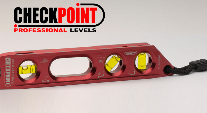 Checkpoint Levels Designed in IronCAD