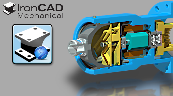 2019 ironcad mechanical part design