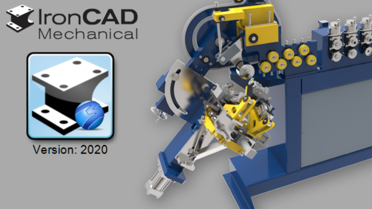 IronCAD Mechanical 2020 Blog