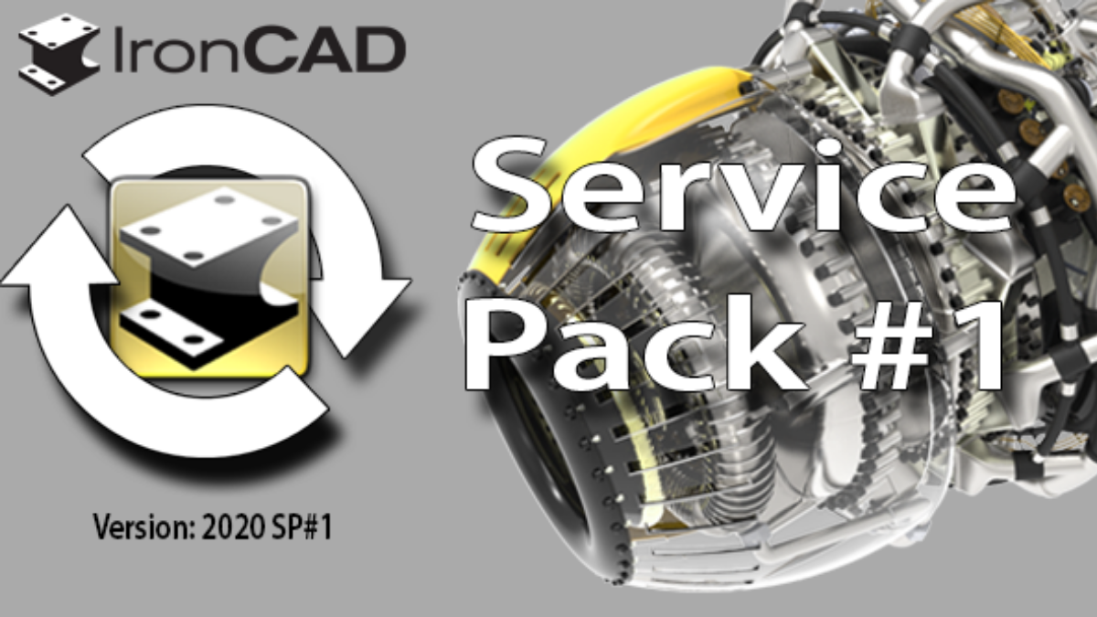 IronCAD 2020 Service Pack 1