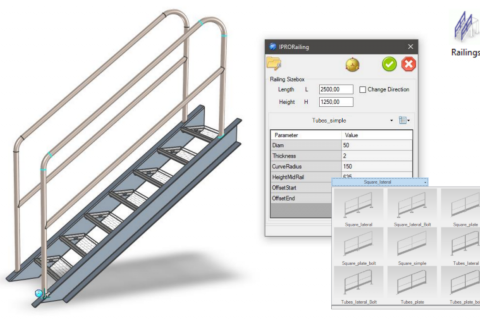 Productivity Tools for Fabricators to Reduce Design Time with IronCAD Mechanical - Steel