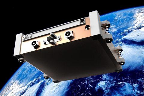 Successfully Producing Spacecraft Concept Designs with IronCAD- Q-cube-in-orbit