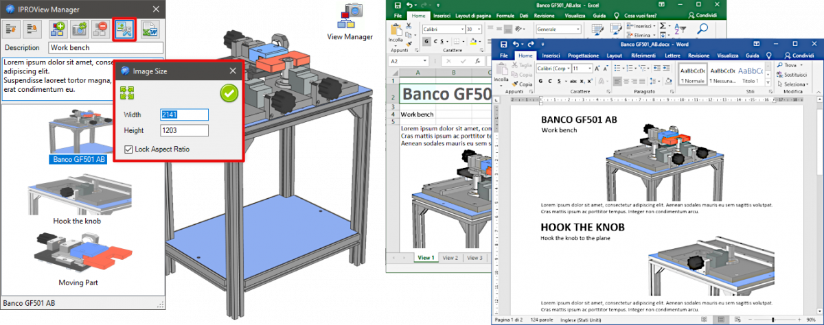 IronCAD Mechanical 2021 - View Manager